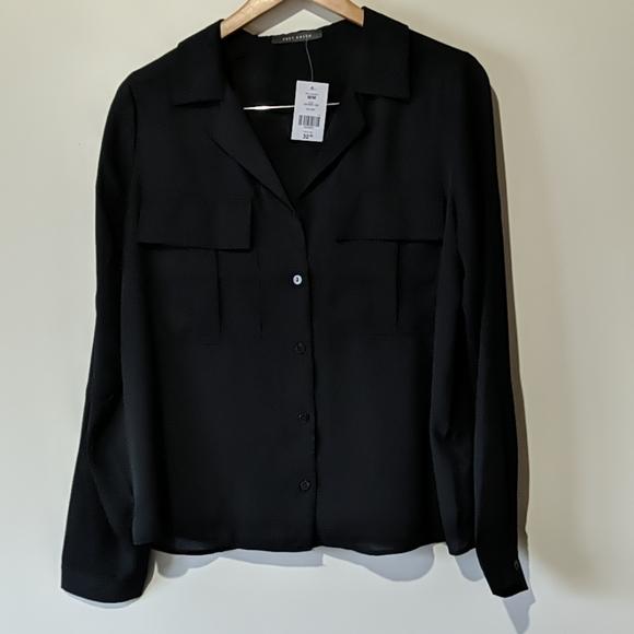 Black blouse NWT
